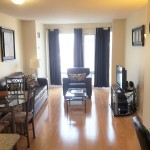 One Bedroom Apartment- Living Room 1