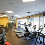 Pantages Fitness room