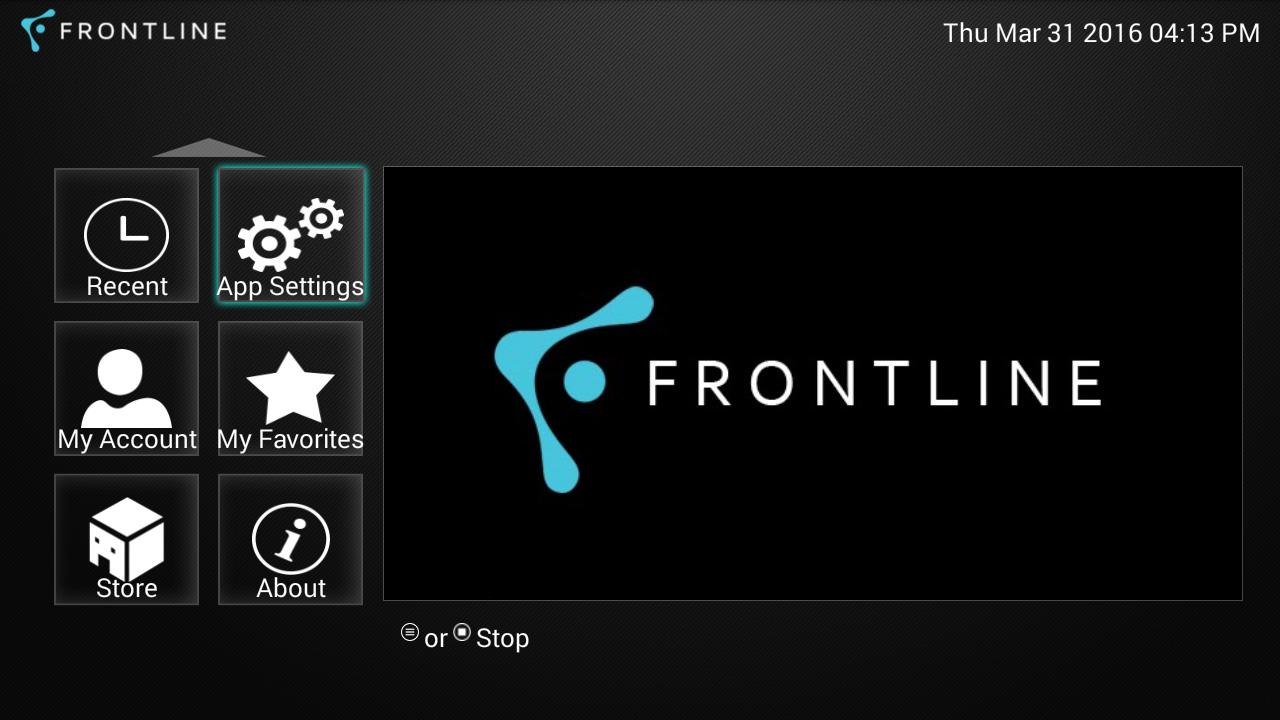 Frontline TV Guide and Channel List